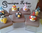 Caixinha Acrilica Angry Birds Biscuit