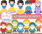 Kit Digital Branca de Neve 1