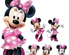 Kit Display Festa Infantil Minnie Rosa