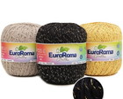 Kit 15 barbante euroroma brilho 400g
