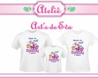 Kit Camiseta My Little Pony