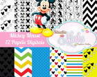 Kit Digital Mickey Mouse I