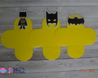 Forminha com aplique Batman