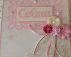 Caixa Scrap Decor Personalizada Rosa