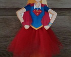 Tubete super girl saia tule