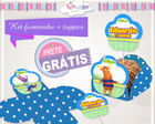 Kit forminha + topper Backyardigans