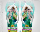 Lembrancinha Chinelo FROZEN FEVER OLAF