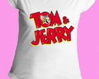 Camiseta Tom e Jerry gola canoa 5