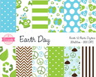 Kit Papel Digital - Earth Day