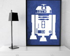 Quadro Decorativo Star Wars R2D2
