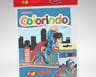 Kit Colorir Superman + Brindes