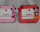 Porta retrato Mickey e minnie 10 unidade
