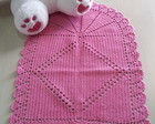 tapete croche oval pink