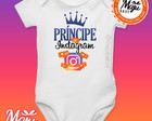Body Personalizado Príncipe do Instagram