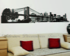 Adesivos Decorativos Skyline de New York