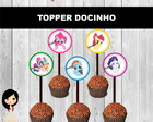 Topper Docinho My Little Pony