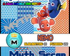 Kit Digital Scrapbook PROCURANDO NEMO