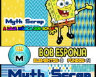Kit Digital Scrapbook BOB ESPONJA