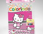 Kit Colorir Hello Kit + Brindes