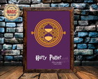 Quadro Vintage Harry Potter 01 Rêtro