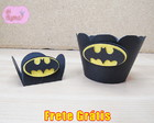 Kit Forminha Batman: 2 Doces + 1 Cupcake