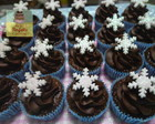 mini cupcake decorado frozen doces