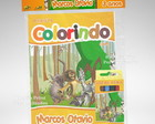 Kit Colorir Madagascar + Brindes