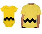 Camisetinha + body - Charlie brown