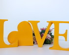 KIT LOVE LETRAS MDF