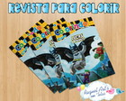 Revista de colorir Batman Lego