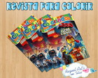Revista de colorir Lego 2