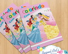 Revista de colorir Princesas Disney