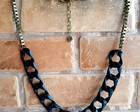 Maxi Colors Chains Black & Ouro Velho