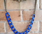 Maxi Colors Chains Blue & Ouro Velho
