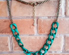 Maxi Colors Chains Green & Ouro Velho