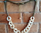 Maxi Colors Chains Ivory & Ouro Velho