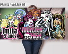 Painel Festa Monster High