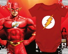 Body de bebê - The flash