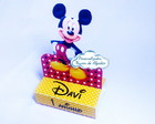 Porta chocolate duplo Minnie Mickey