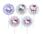 5 Toppers Hello Kitty