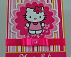 Convite Hello Kitty Modelo P24