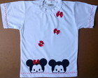 Camiseta Personalizada Mickey Minnie