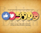 Arte digital - Emoticons do facebook
