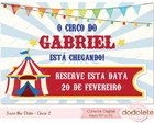 Save the date - Circo 2