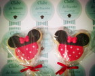 Biscoito decorado Mickey e Minie