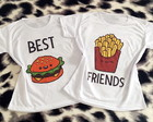 03 camisetas best friend - escolha