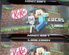 Chocolate Kit Kat Personalizado