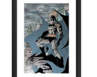 Quadro Batman Jim Lee Hq DC Marvel Gibi