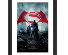 Quadro Batman Vs Superman Filme Dc Comic