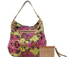 Hobo Bag Jacquard + Carteira Arabescos
